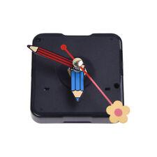 Quartz Silent Clock Movement Mechanism Flower Hand DIY Repair Part Kit SS