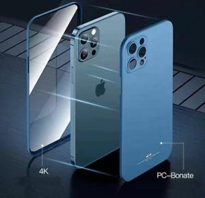 Ultra Dünn Hülle 360 Grad Case Handy Tasche Bumper Schutzhülle Glas Panzerfolie