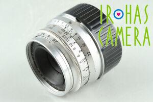 Leica Leitz Summaron 35mm F/2.8 Lens for Leica L39 #34871 C1