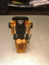 G1 Vintage Transformers Autobots Minibots - Yellow Minispy Jeep