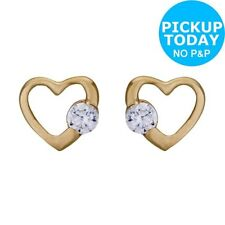 Unbranded Heart Stud Clip - On Costume Earrings