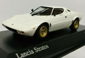 ==== Minichamps 1:43 Lancia Stratos White 1974 (Black Box) ====