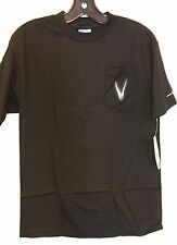 Men's Victory Motorcycle Vision Pocket T-Shirt In Black (Size M) NWT