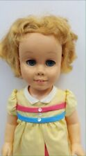 "1960 Patents Pend CHATTY CATHY DOLL 19"" Blonde Blue Eyed"