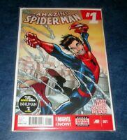 AMAZING SPIDER-MAN #1 1ST PRINT MARVEL 2014 1st appearance app CINDY MOON silk