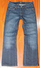 Seven 7 For All Mankind Women's Jeans Bootcut Size 25 - U075080U - 080U 723384