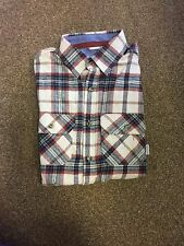 Brakeburn Winter Check Flannel Shirt, Mens Medium
