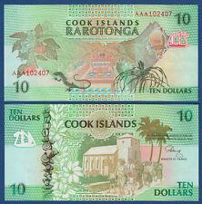 COOK ISLANDS 10 Dollars (1992)  UNC  P. 8