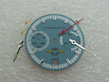 Poljot Shturmanskie Chronograph Cal.3133 Vintage Russian Dial & Watch Hands New
