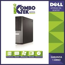 COMPUTER PC DELL OPTIPLEX 790 DESKTOP INTEL I3 4GB 250GB WIN 7 PRO GARANTITO