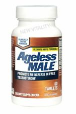 New Vitality Ageless Male Testosterone Booster - 60 Tablets Exp: 2022+