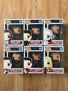 Friends Rachel Ross Monica Chandler Joey Phoebe Wave 1 Funko Pop Vinyl Figures