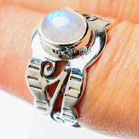 Rainbow Moonstone 925 Sterling Silver Ring Size 7 Ana Co Jewelry R25852F