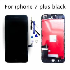 Black For iPhone 7 Plus LCD Touch Screen Digitizer Assembly Replacement 5.5""