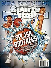 New Sports Illustrated Kids Warriors Steph Curry Splash Brothers No Label +Cards
