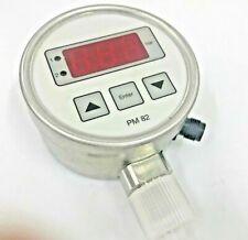 KRONES PM82 PM82-0110-330 Digital Contact Pressure Gauge 0 to 10 bar
