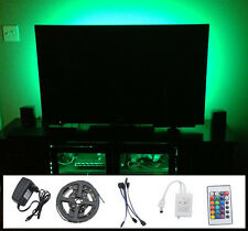 5050 RGB LED Mood Lighting Ideas TV Back Light Multi Colours Changing New