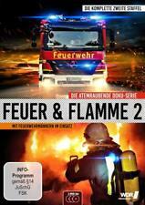 FEUER UND FLAMME-MIT FEUERWEHRMÄNNERN IM EINSATZ  3 DVD NEU