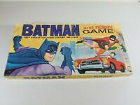 Vintage 1965 Batman & Robin - Hasbro Board Game Complete