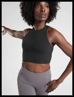 Athleta NWT Women's Conscious Crop Size Large Color Black