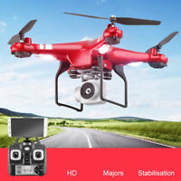 X52 2.4Ghz Remote Control Quadcopter HD WiFi FPV Camera RTF Headless RC Drone