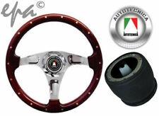AUTOTECNICA WOODGRAIN STEERING WHEEL & BOSS KIT FORD BRONCO F100 F150 F250 F350