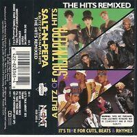 A Blitz of Salt-N-Pepa Hits: The Hits Remixed  (Cassette, 1990, London)