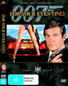 James Bond 007 - For Your Eyes Only - Rare DVD Aus Stock -Excellent