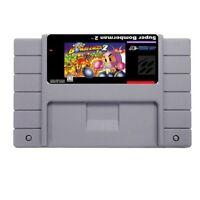 Bomberman 2  SUPER NINTENDO SNES Game 16bit 46pin