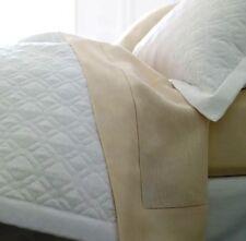 New Sferra Italy Nicola 4215 White Boudoir Pillow Sham Octagonal Quilt Design