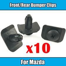 10x Bumper Clips For Mazda3 323 MX3 MX5 MX6 RX8 CX Front Rear Retainer Fastener
