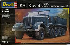 """Revell Model Kit Sd.Kfz. 9 """"FAMO"""" Schwerer Zugkraftwagen l8t 03141 NEW"""