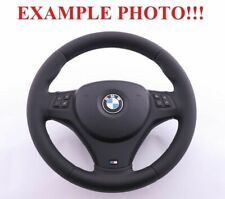 BMW 1 3 1 E81 E82 E87 E90 E91 E92 E93 NEW Leather M-Sport Thick Steering Wheel