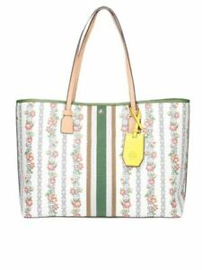 TORY BURCH GEMIMI LINK CANVAS TOTE RRP 258