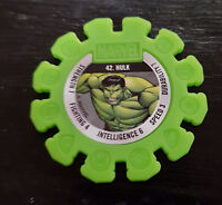 WOOLWORTHS HULK MARVEL HERO DISKS HULK 42 #42!