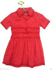 Oilily ✿ Stunning Christmas Red Party Dress ✿ GIRLS sz 104 / 4 - 5 ✿ New ✿ NWT