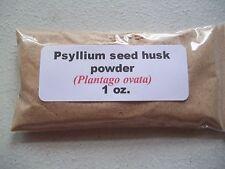 1 oz. Psyllium Seed Husk Powder (Plantago ovata)