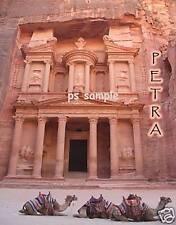 Jordan - PETRA - TREASURY - Travel Souvenir Flexible Fridge Magnet