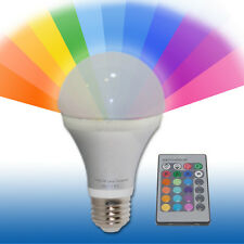 Control Remoto Cambio De Color Bombilla 5w Led Bombilla es / E27 Edison Gls
