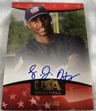 L.J. Hoes 2008 USA Baseball Junior National Team Signatures Autograph HOT!