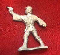 Rare Vtg Unpainted Kenner Star Wars Micro Collection Luke Skywalker Figure 1982