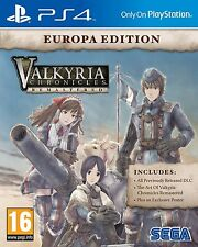 Valkyria Chronicles Remastered PS4 Sony PlayStation 4 Brand New Factory Sealed
