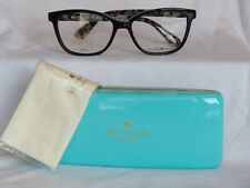 New Women's Kate Spade Eyeglass Frame Emilyn Black Plastic 52-16-140