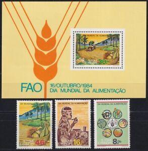 F-EX20399 SAO TOME E PRINCIPE MNH 1984 FAO FOOD FRUIT AGRICULTURE
