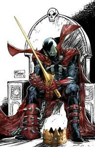 King Spawn #1 Incentive Signed by Todd McFarlane +  Cert 1:250 Pre-order 8/25