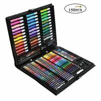 Painting Set Kid Color Pencil Crayon Marker Pen Water Drawing Tool Brush School