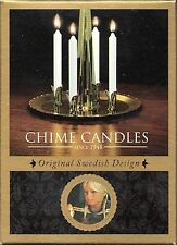 Angel Chime Replacement Candles Box of 20 Chime Candles White