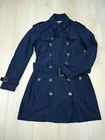 Burberry Brit Women's Trench Coat UK Size 10 in Excellent Condition