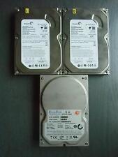 "3x 80GB 3,5"" HDD/Festplatten (SATA) 2x Seagate Barracuda, 1x ExcelStor `Jupiter`"