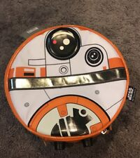 Star Wars BB8 Circular Lunch Box Kids Children's Case Disney Store Rogue One New